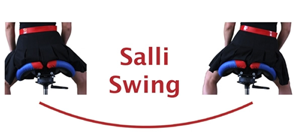 Salli Swing Saddle Seat